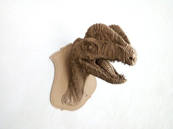 Dilophosaurus by MyLaserJoy on Etsy
