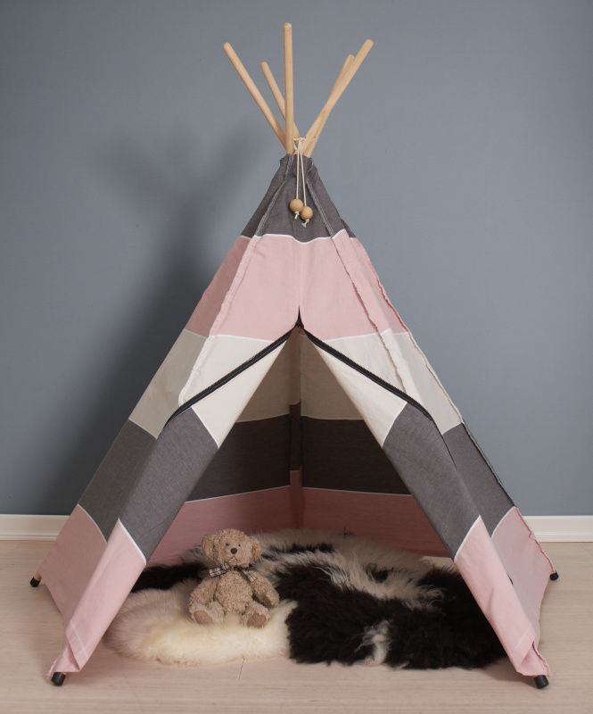 Hippie Tipi Tent / Speeltent North Roze van Roommate & 21 best Hippe kinderkamer accessoires Roommate images on Pinterest ...