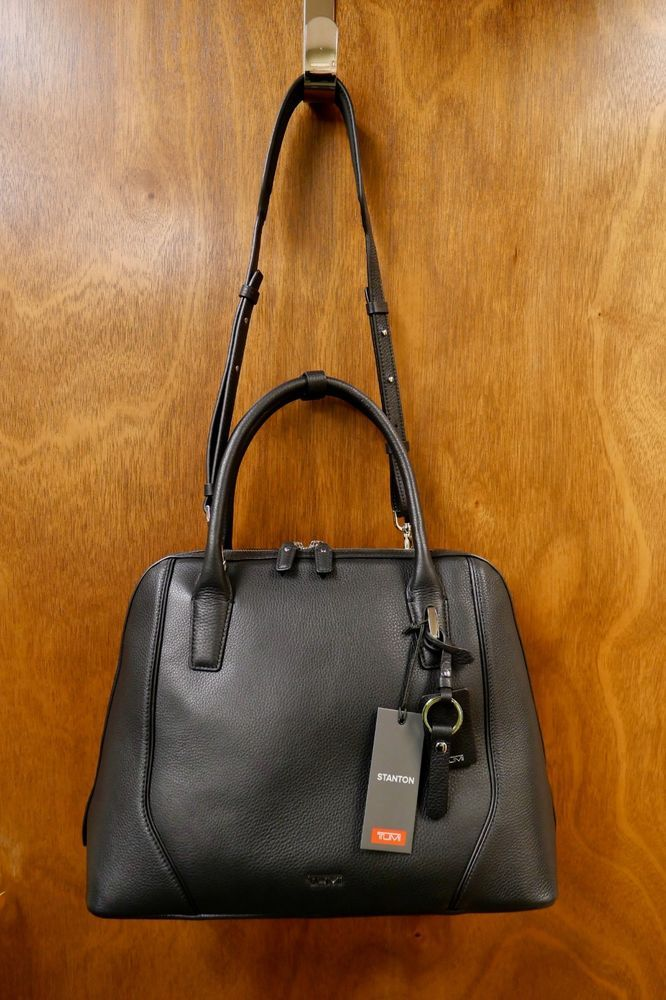 f4f037a8630 Tumi Stanton Janet Domed Satchel Laptop Tote Black-MINT! Only Used Twice!