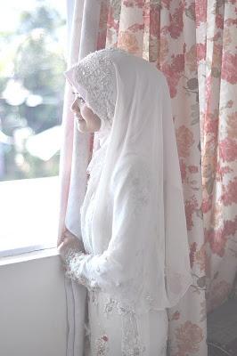Syar'i wedding hijab style ♡♥♡
