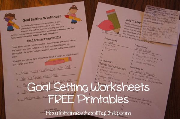 Before I start my review, let me assure you that there are goal setting worksheets at the bottom of this post. Just for homeschool moms!    They are based on the approach given in 18 Minutes: Find Your Focus, Master Your Distraction & Get the Right Things Done.  18 Minutes was highly ...