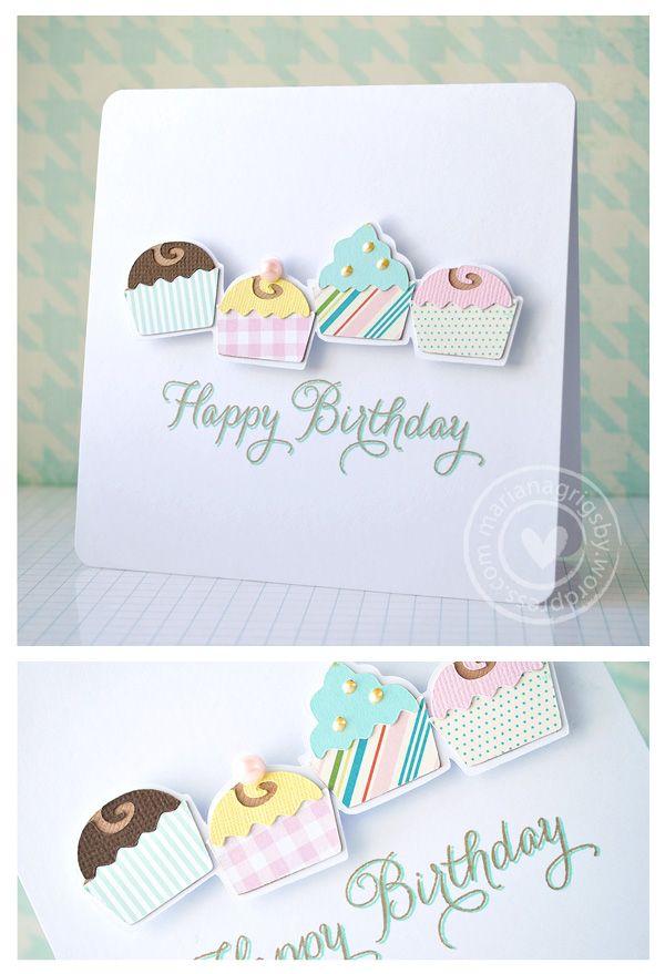 A Cricut Card [Happy Birthday]