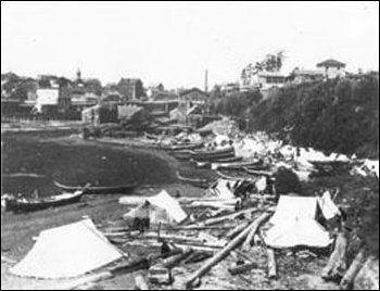 The fraser river gold rush of