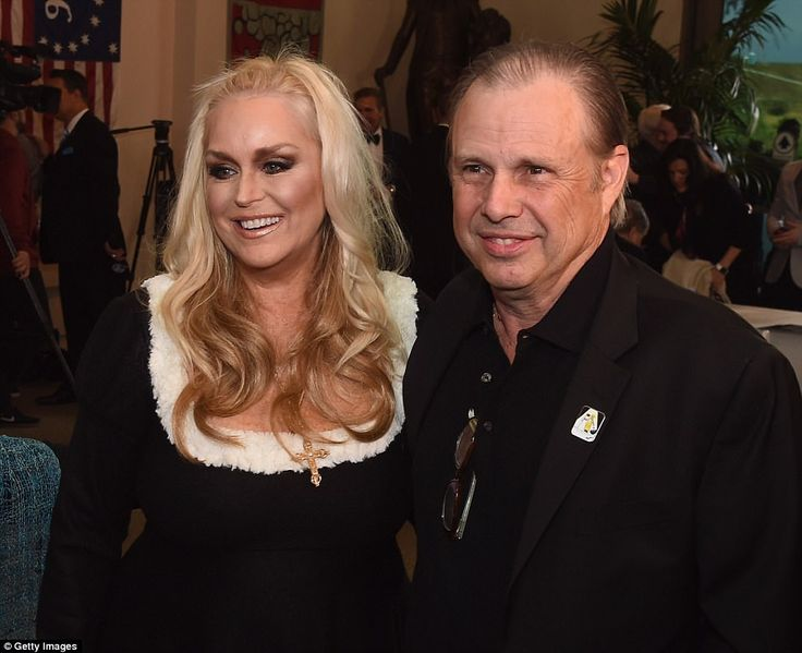 Catherine Hickland and Todd Fisher attend Debbie Reynolds and Carrie Fisher memorialat Fo...