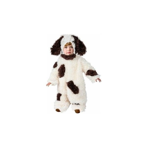 Buy a Toddler Furry Puppy Dog Costume for $39.99 found on Polyvore