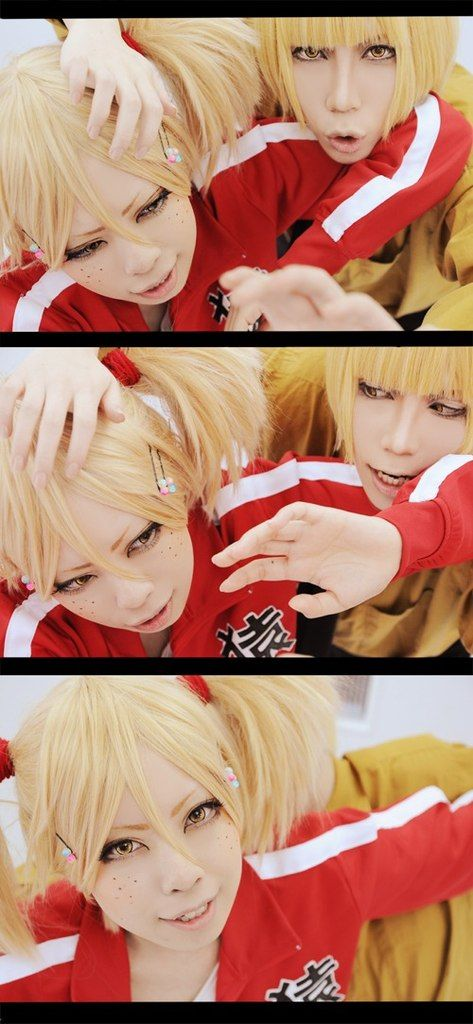 Hirako Shinji and Sarugaki Hiyori (Bleach) (Cosplay)