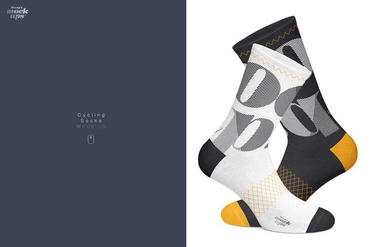 Download Cycling Socks 3 Types Mockup Cycling Socks Socks Psd Designs