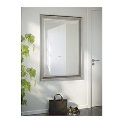 IKEA - SONGE, Mirror, , Signs of aging and slight imperfections give this mirror a vintage look, and is the result of a special surface treatment.Can be hung horizontally or vertically.Safety film  reduces damage if glass is broken.