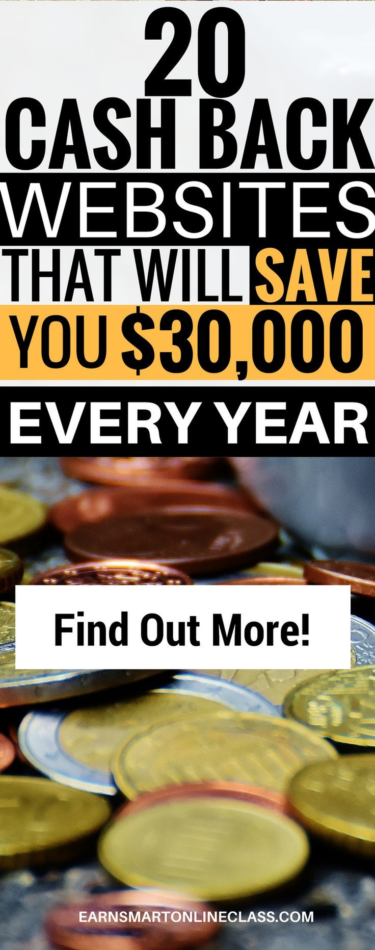 Do you want to save money while doing grocery shopping? Now you can! These 20 cash back websites will you money this year| get paid to shop at these rebates cash back sites| best cash back sites| save money shopping online| best shopping apps| shopping with ebates, topcashback, swagbucks