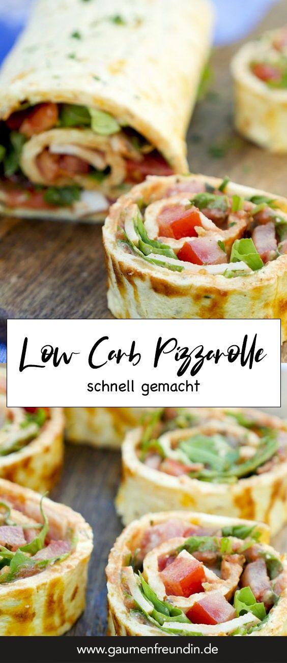 Low Carb Pizzarolle – Gaumenfreundin Foodblog – Gesunde & schnelle Rezepte