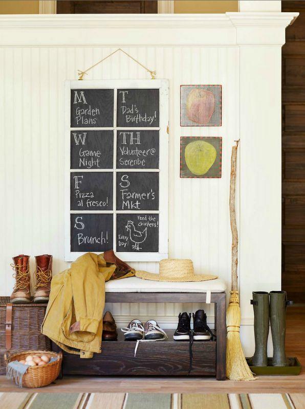 Window Chalkboard