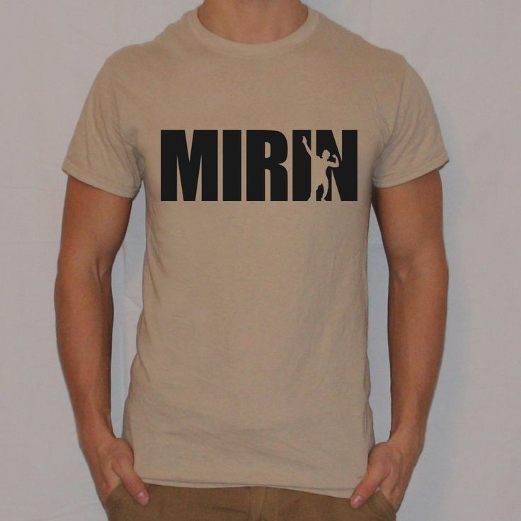 MIRIN Zyzz T-Shirt from Ripped Generation Gym Wear #Zyzz #GymWear #GymApparel #RippedGeneration