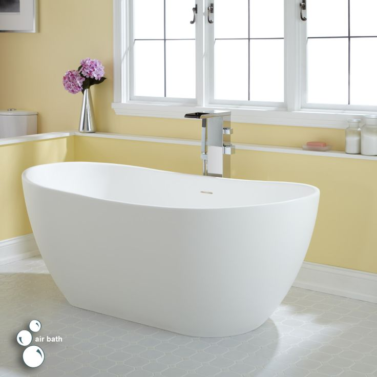 10 best freestanding tubs images on pinterest for Best acrylic tub
