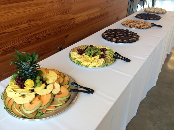 Tastefully Yours Events and Catering: Fruit and Cheese