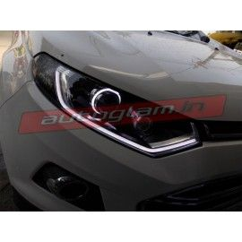 Ford Ecosport, AUDI Style, AES HID Projector Headlights & LED Projector