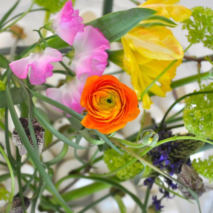 Easter flowers from Maja Maagaard for Lisbeth Dahl Copenhagen. #LisbethDahlCph #Flowers #Pretty #Colour