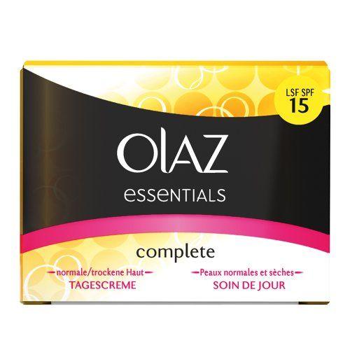 Oil of Olaz: Complete Tagescreme mit UV-Schutz: parfümiert (1) und unparfümiert (1) je 3,00