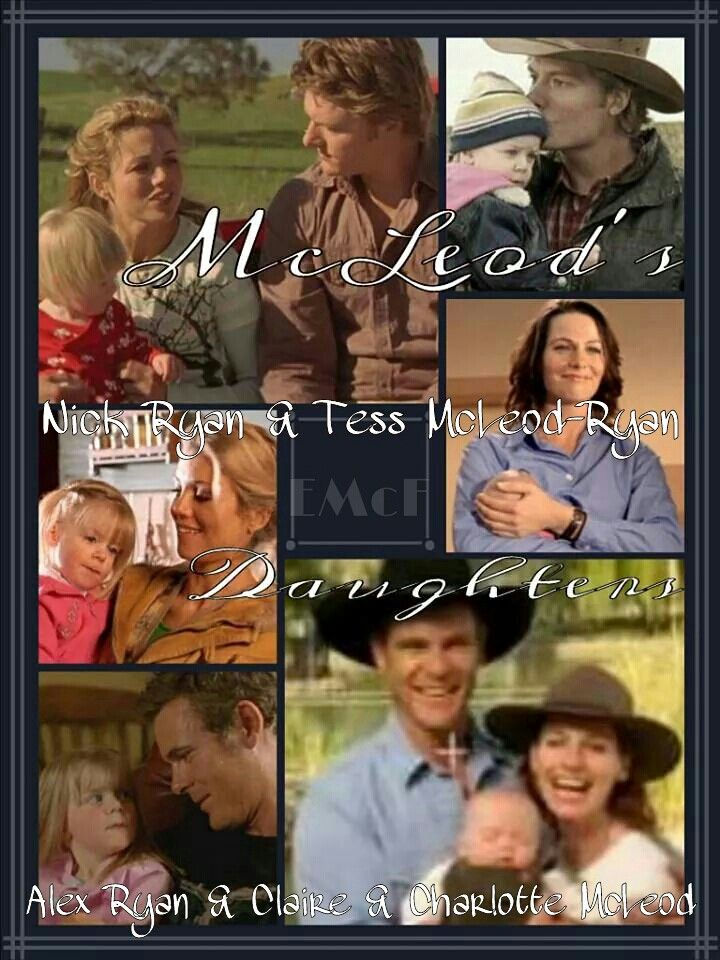 McLeod's Daughters Wallpaper by Elizabeth McFarland- Alex, Claire & Charlotte / Nick, Tess & Charlotte