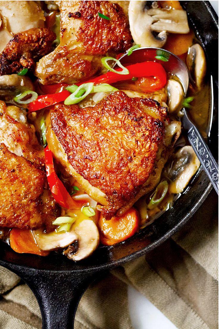 Para esos días en los que el objetivo es cenar de una forma sana y rica pero esforzándote lo mínimo en la cocina y en un tiempo récord, hemos preparado una b...