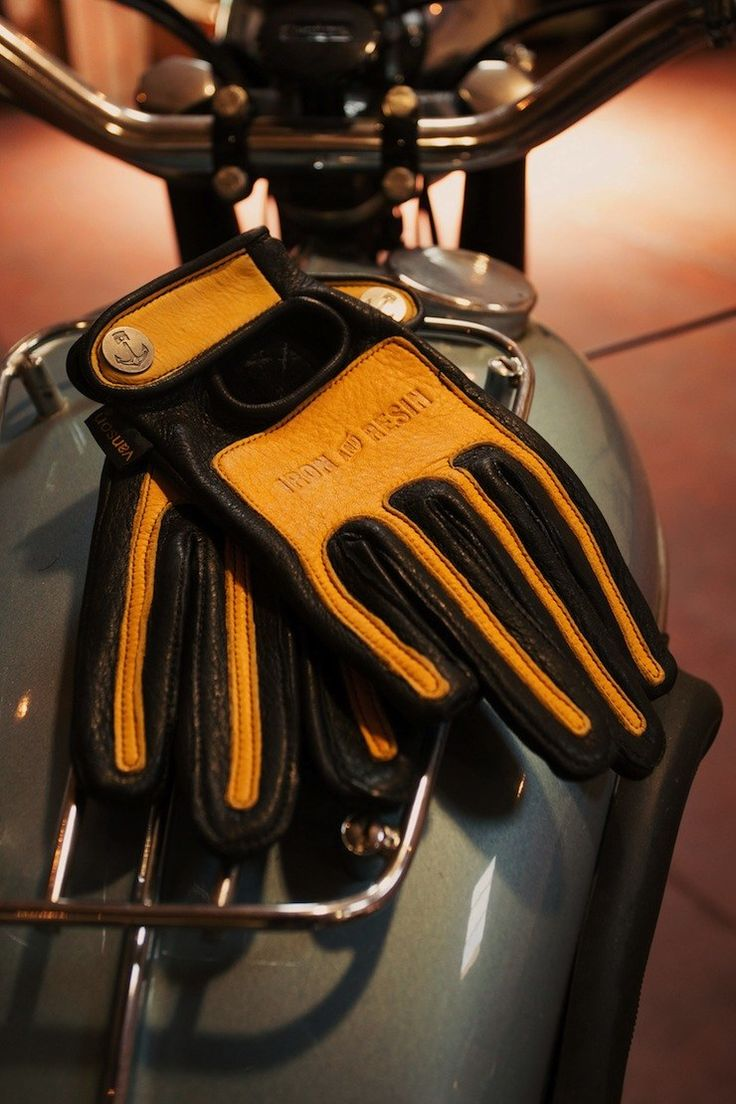 Motorcycle gloves kingston - Iron Resin X Vanson Leather Motorcycle Gloves