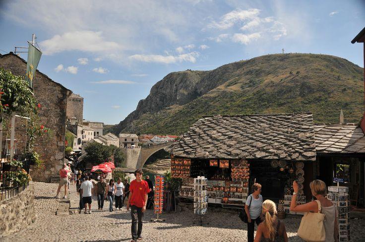 Starówka w Mostarze