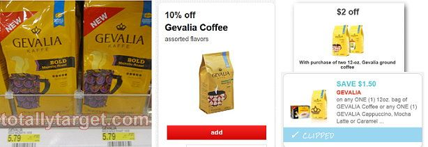 Gevalia Ground Coffee Only $2.82 at @Target #hotdeals