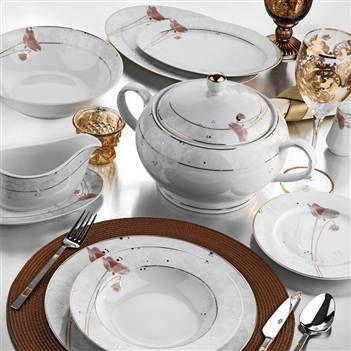 #yasemin #85parça #yemektakımı #porselen #yemek #sofrasanatı #kütahyaporselen