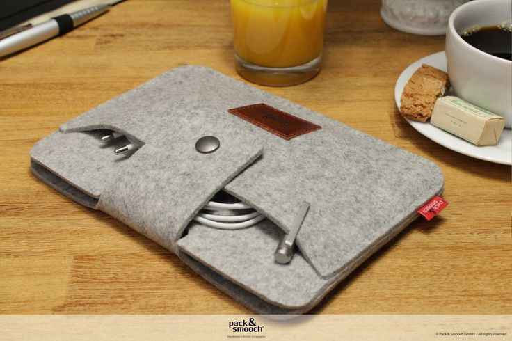 iPad mini Retina sleeve, case, cover 100% Merino wool felt Lleyn IPS-LM-GLB