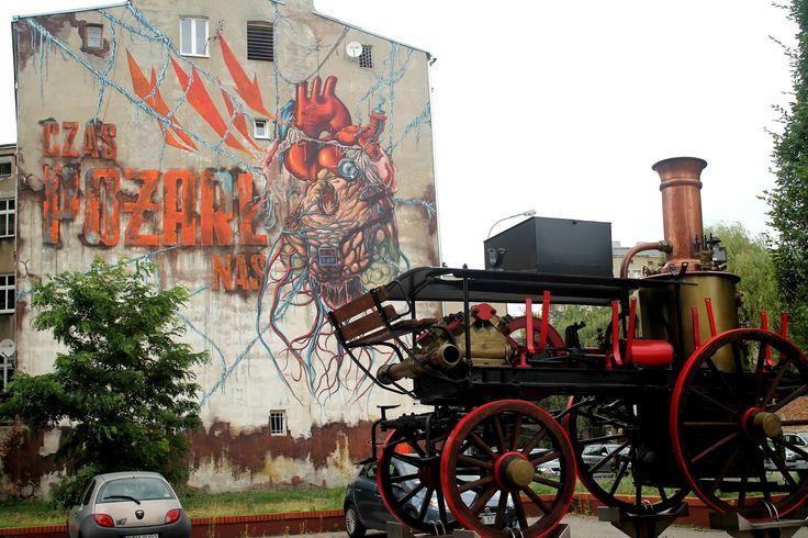 Poland, Lodz Ulica Wólczańska 109.