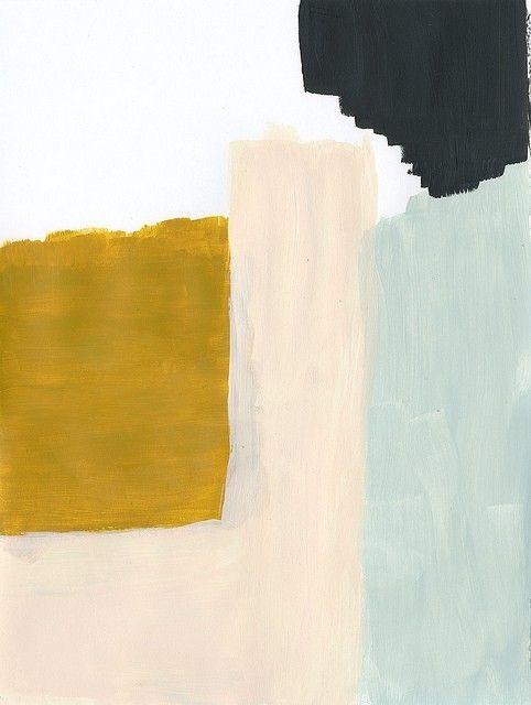 ashley goldberg. subtle blocks of color - delicate and oh so fine...