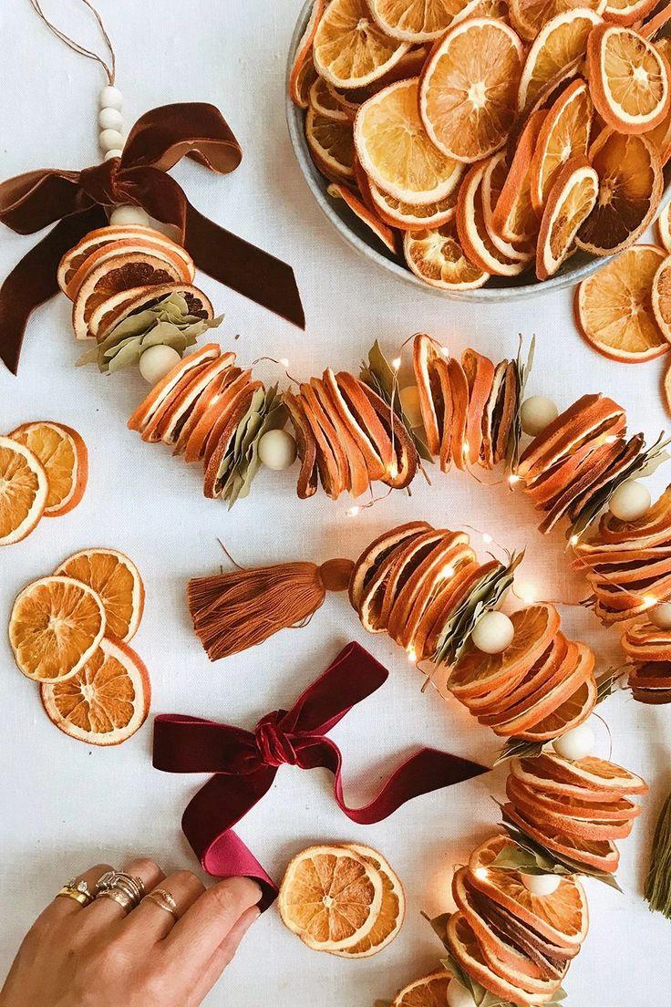 DIY Dried Citrus Garlands – Honestly WTF