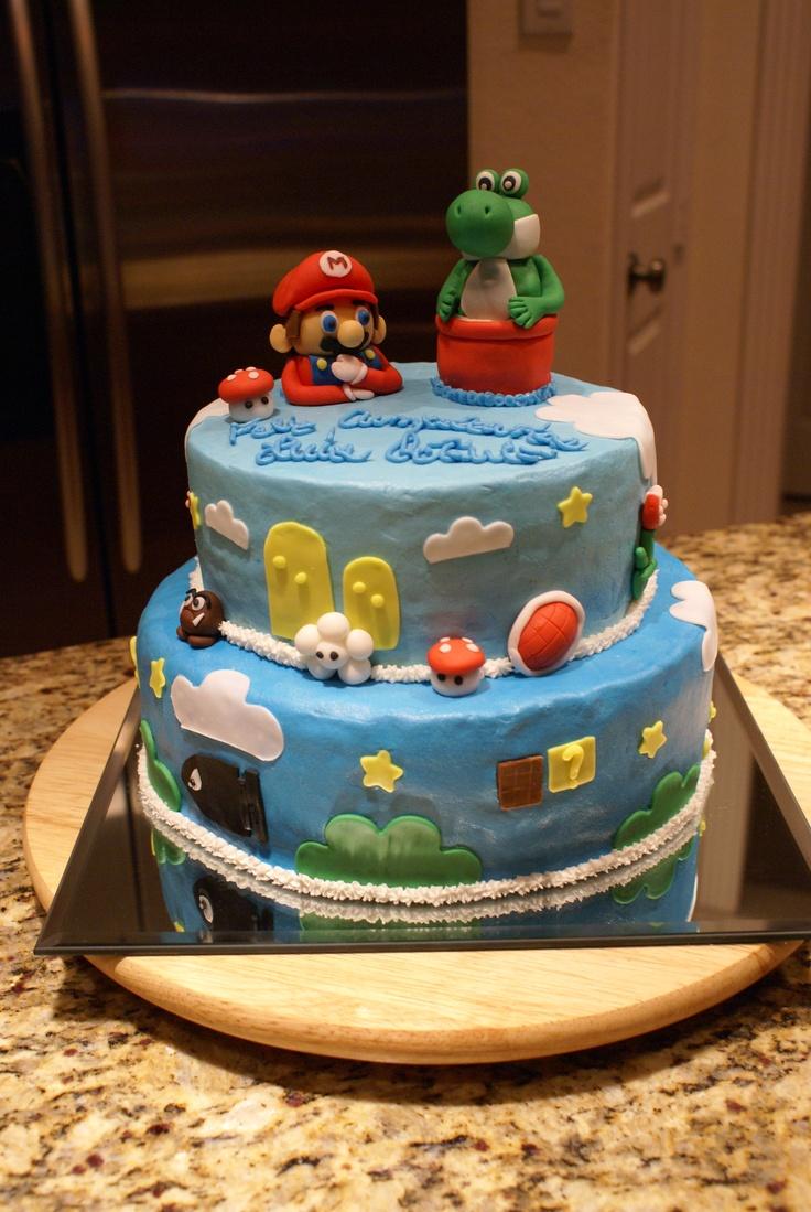 Super Mario Bros. cake!!!