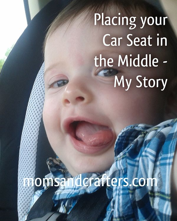 Placing Car Seat in Center - My story. Read what happened to us and why its recommended to place the car seat in the center seat.