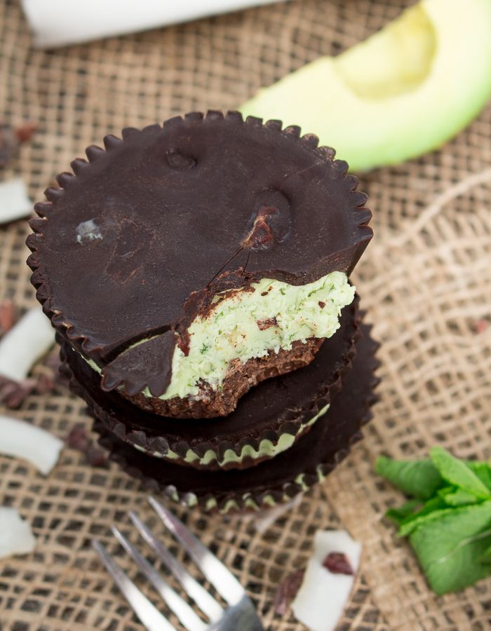 Raw Chocolate Mint Tarts - Gluten Free & Vegan