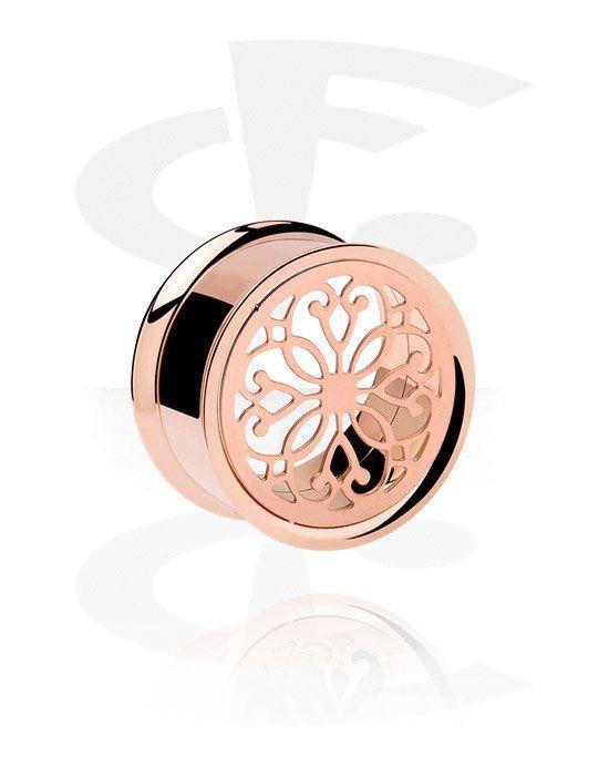 Double flared tube or rose (Acier chirurgical 316L) | Crazy Factory magasin de piercings en ligne