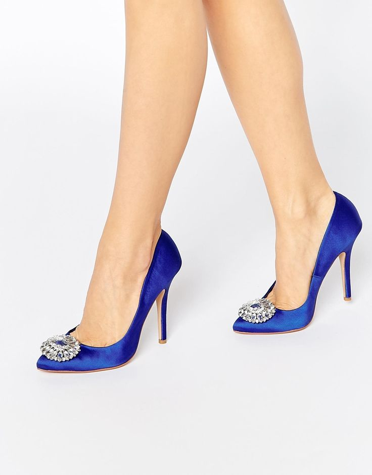 Image 1 ofCarvela Lotty2 Embellished Court Shoes
