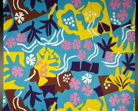 Pacific 1973. Production: Katja of Sweden. Cotton-jersey, printed