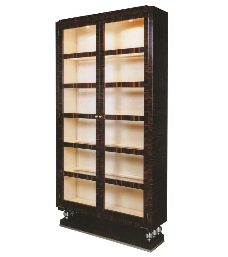 Buy THE DYONISOS BOOKCASE from William Switzer by ADAC - Made-to-Order designer Furniture from Dering Hall's collection of Traditional Transitional Bookcases & Étageres.