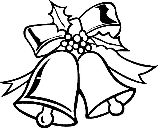 Christmas Bell Ornaments Coloring Pages For Kids