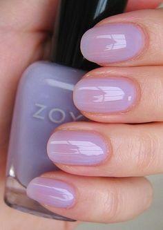 10 Best Zoya Nail Polish Reviews And Swatches - beautiful lavender wash