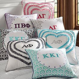 If I had unlimited wealth I would redecorate the rooms in the house.  Sorority Gifts, Sorority Merchandise & Sorority Gear | PBteen