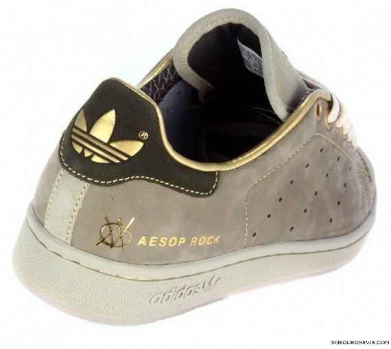 One day, I'll have these...    Aesop Rock x Upper Playground Adidas Stan Smith