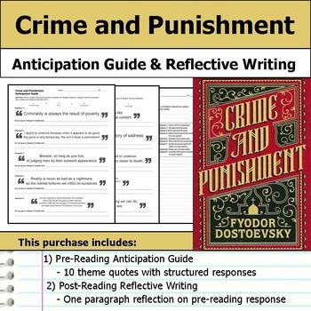 Crime and punishment - Assignment Example