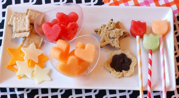 Fun shaped party food