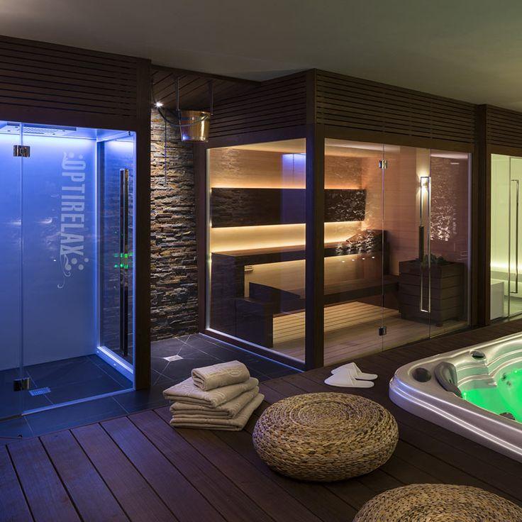 Wellness-Sauna-Anlage nach Maß - CM-IND-Lux