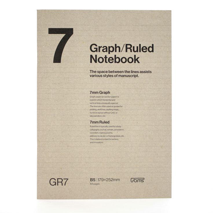 GR7 Notebook on Behance