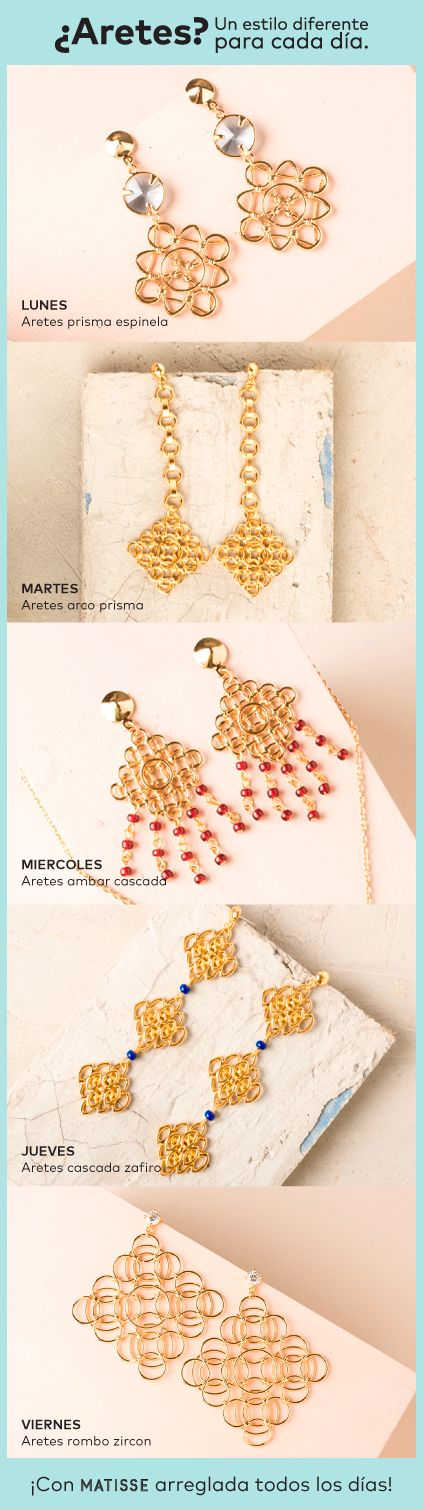 #Joyas #matisse #style #moda #fashion #jewelry #oro #urban #lifestyle #behappy #navidad #regalos