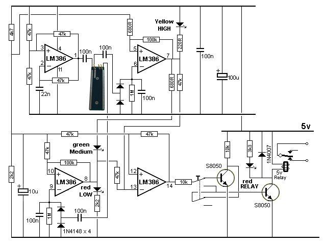 low pass filter subwoofer circuit diagrams