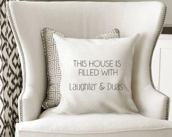This house cushion/Islamic home decor