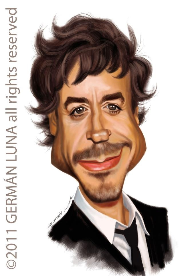 Celebrity Caricature Drawings by Dennis Porter